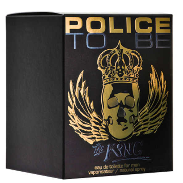 Police To Be The King Perfume Masculino - Eau de Toilette 40ml