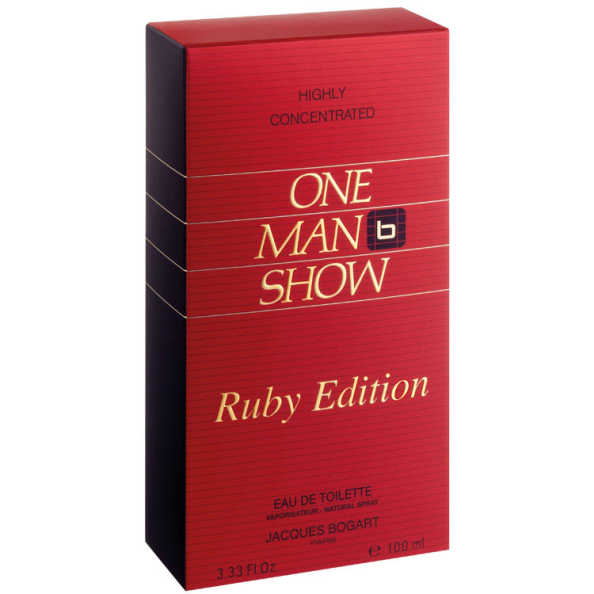 Jacques Bogart One Man Show Ruby Edition Perfume Masculino - Eau de Toilette 100ml