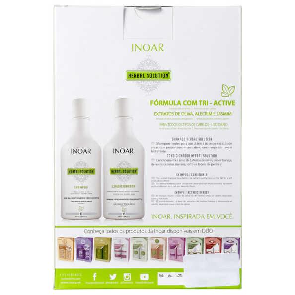 Inoar Herbal Solution Kit (2 Produtos)