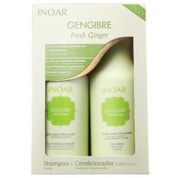 Inoar Gengibre Fresh Ginger Kit (2 Produtos)