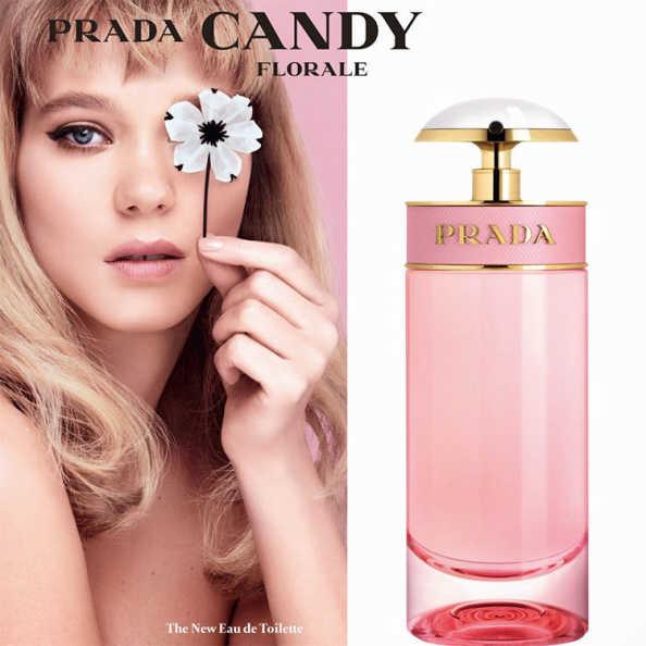 PRADA Candy Florale Perfume Feminino - Eau de Toilette 30ml