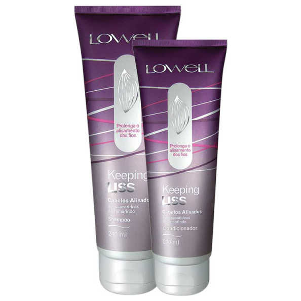 Lowell Keeping Liss Duo Kit (2 Produtos)