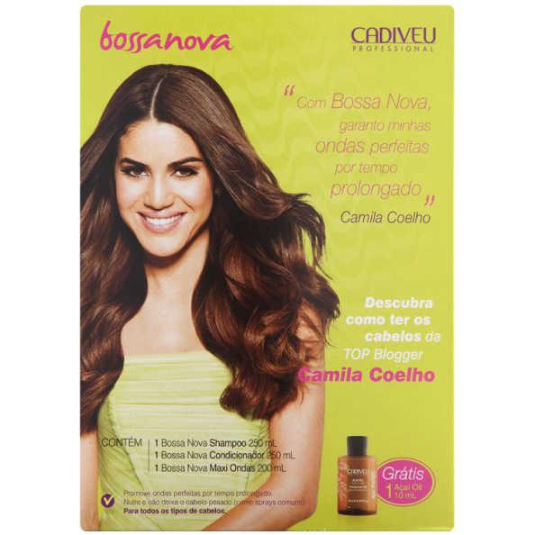 Cadiveu Professional Bossa Nova Camila Coelho Kit (4 Produtos)