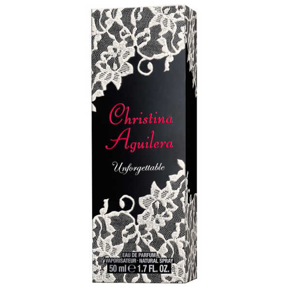 Christina Aguilera Perfume Feminino Unforgettable - Eau de Parfum 50ml