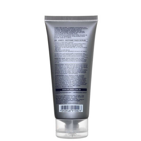 Dr. Jones Isotonic Face Scrub - Sabonete Esfoliante 100ml