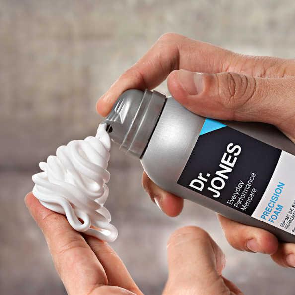 Dr. Jones Precision Foam - Espuma de Barbear Hidratante 160ml