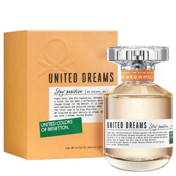Benetton Perfume Feminino United Dreams Stay Positive - Eau de Toilette 50ml