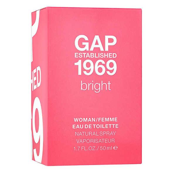 Gap Established 1969 Bright Perfume Feminino - Eau de Toilette 50ml