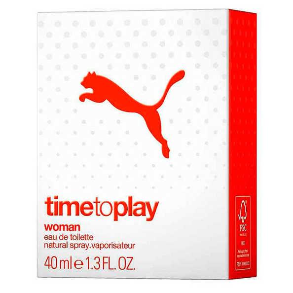 Puma Time To Play Woman Perfume Feminino - Eau de Toilette 40ml