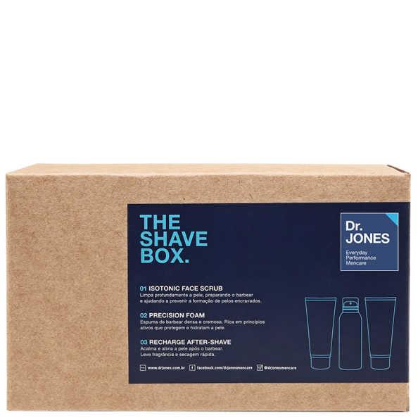 Dr. Jones The Shave Box Kit (3 Produtos + Nécessaire)