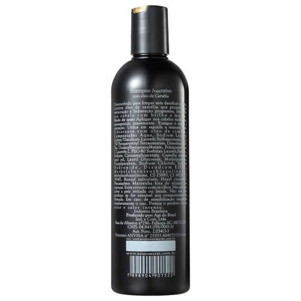 Asian Secret Shampoo Nutritivo - Shampoo 350ml
