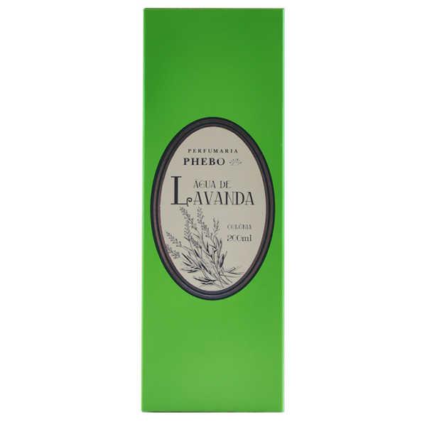Phebo Perfumaria Água de Lavanda Perfume Unissex - Eau de Cologne 200ml