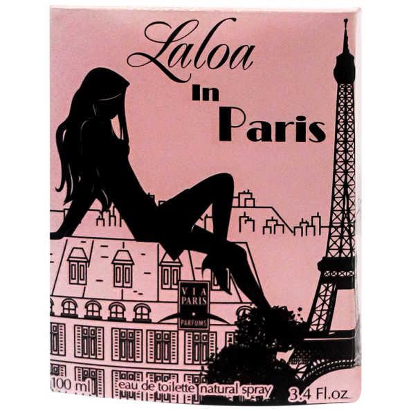 Via Paris Laloa in Paris Perfume Feminino - Eau de Toilette 100ml