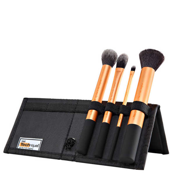 Real Techniques Core Collection Kit (4 Produtos + Estojo)