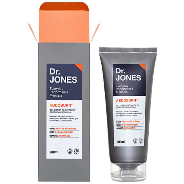 Dr. Jones Abdoburn - Redutor de Gordura 200ml