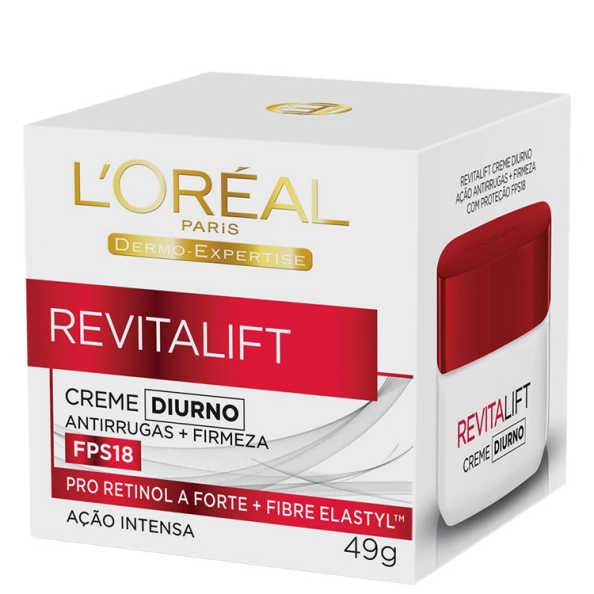 L'Oréal Paris Dermo-Expertise Revitalift Creme Diurno FPS 18 – Anti-Idade 49g