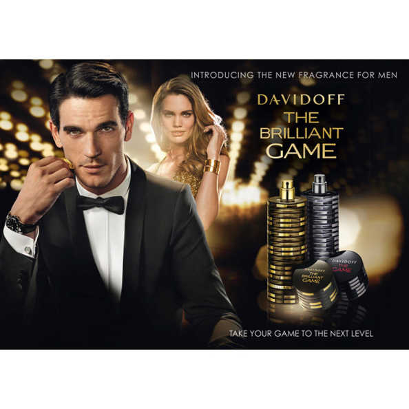 Davidoff Perfume Masculino The Brilliant Game - Eau de Toilette 40ml