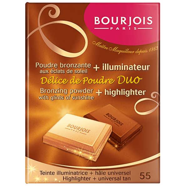 Bourjois Délice de Poudre - Duo de Iluminação e Contorno 16,5g