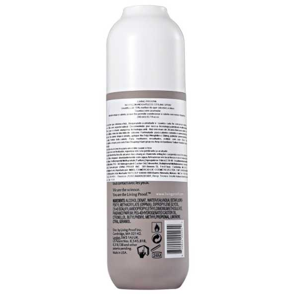 Living Proof No Frizz Weightless Styling Spray - Modelador 200ml