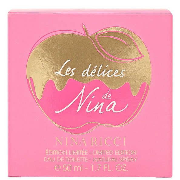 Nina Ricci Perfume Feminino Les Délices De Nina - Eau De Toilette 50ml