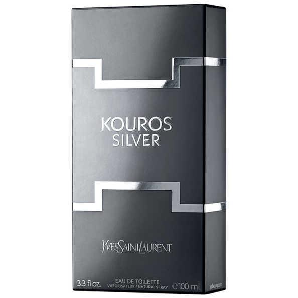 Yves Saint Laurent Perfume Masculino Kouros Silver - Eau de Toilette 100ml