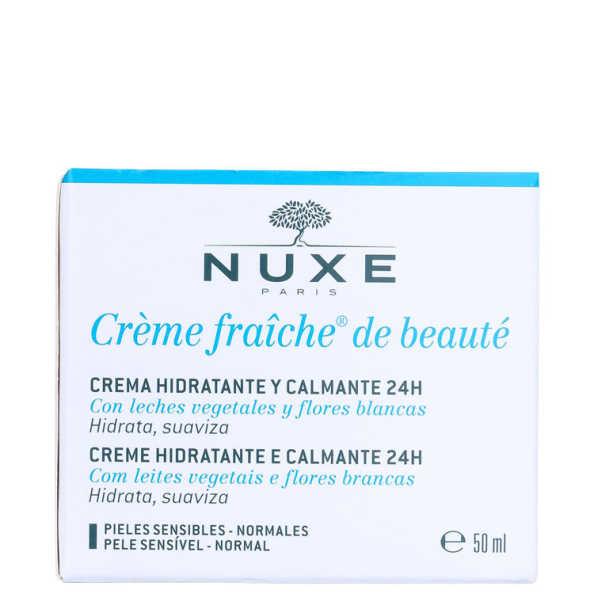 Nuxe Crème Fraîche De Beauté - Hidratante Calmante Facial 50ml