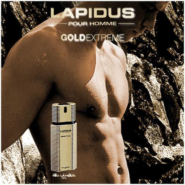 Ted Lapidus Perfume Masculino Gold Extreme - Eau de Toilette 100ml