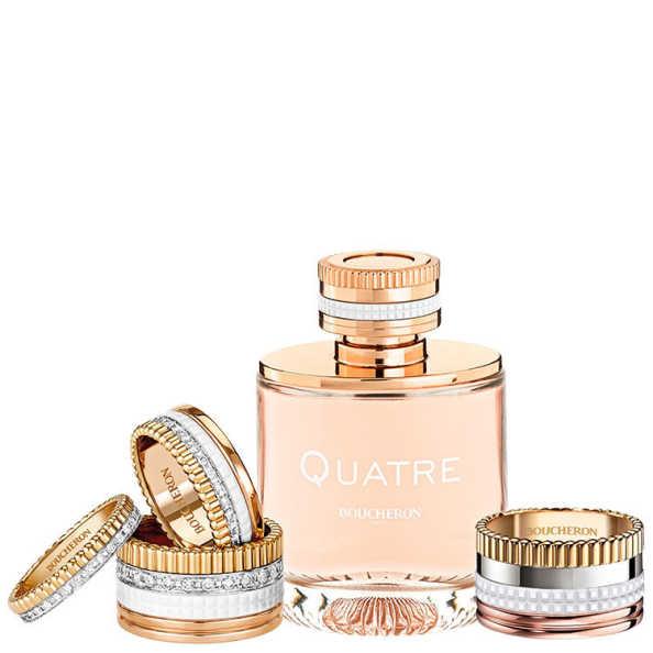 Boucheron Perfume Feminino Quatre Pour Femme - Eau de Parfum 50ml