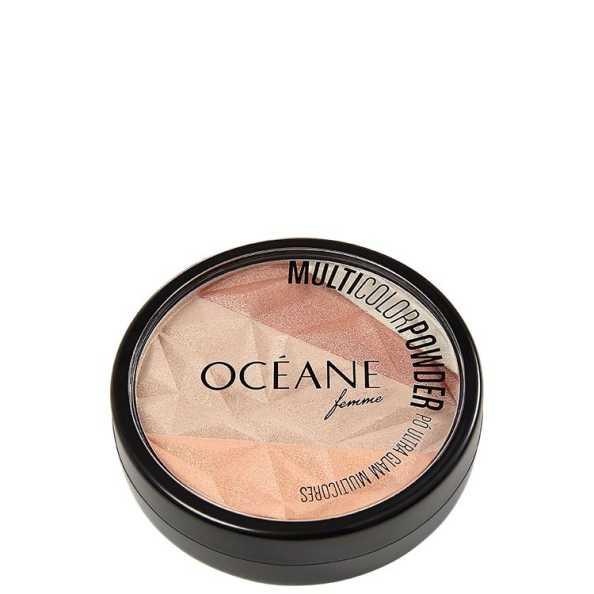 Multicolor Powder Ultra Glam - Pó Facial 3 em 1 9,5g