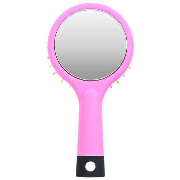 Océane Femme Rainbow Brush Rosa - Escova Almofadada Pequena
