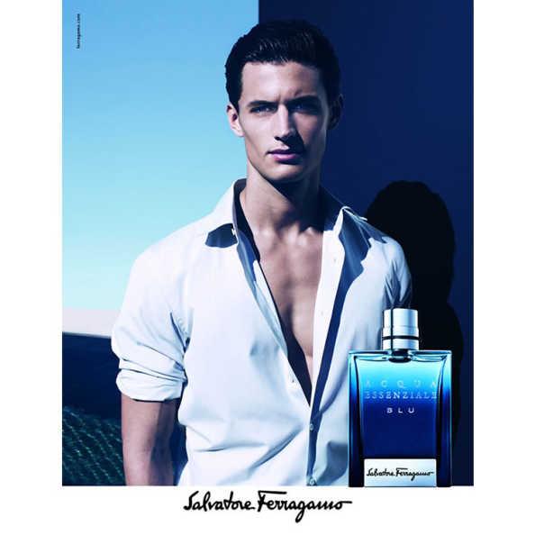 Salvatore Ferragamo Perfume Masculino Acqua Essenziale Blu - Eau de Toilette 50ml