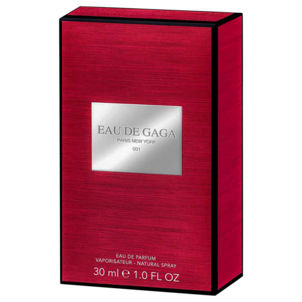 Lady Gaga Perfume Unissex Eau de Gaga 001 - Eau de Parfum 30ml