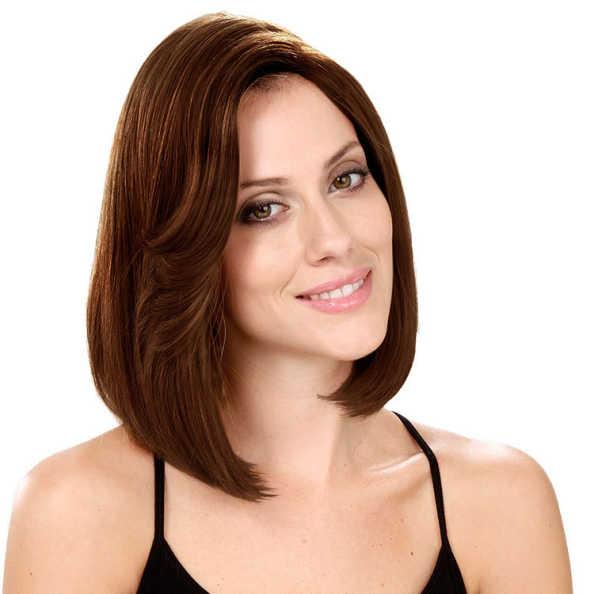 Crown Wigs Bianca Cor Castanho Médio - Peruca 30cm
