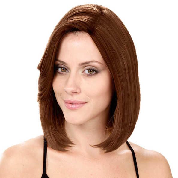 Crown Wigs Bianca Cor Castanho Claro - Peruca 30cm