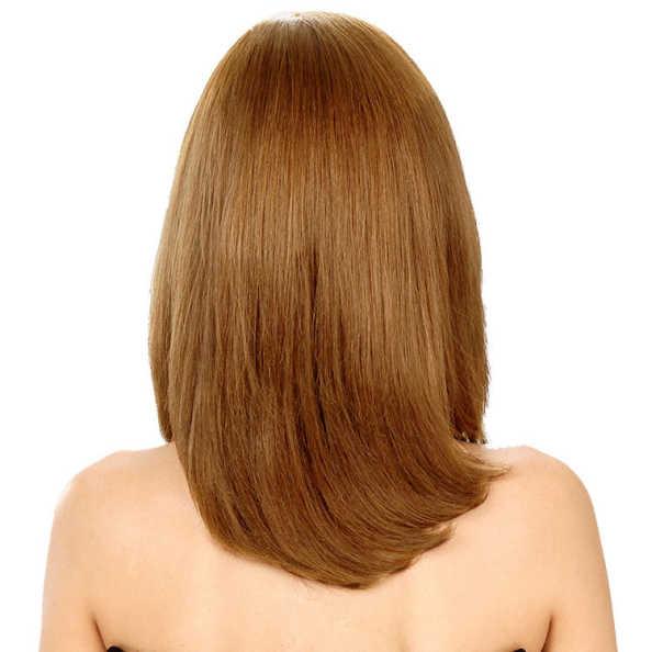 Crown Wigs Carol Cor Castanho Claro/Louro Médio - Peruca 35cm