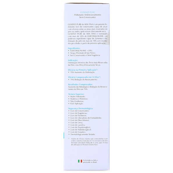 Ada Tina Gliventi Pure - Hidratante Antirressecamento 200ml
