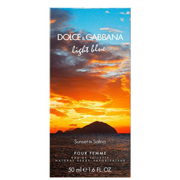 Dolce & Gabbana Perfume Feminino Light Blue Sunset In Salina - Eau de Toilette 50ml