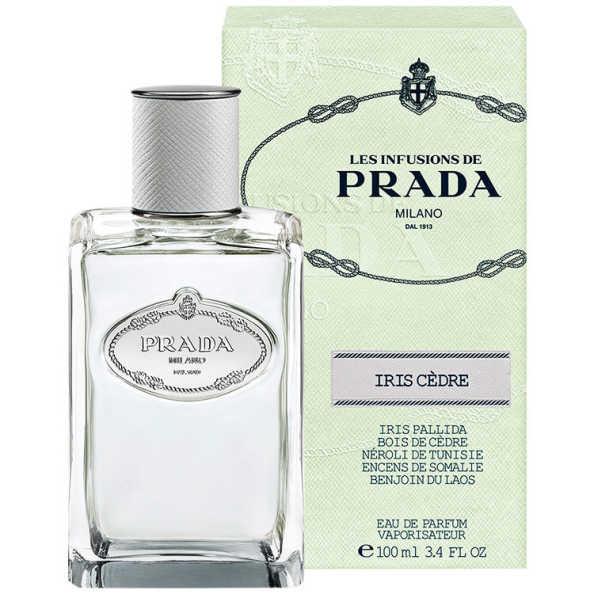 Prada Perfume Unissex Infusion D'Iris Cèdre - Eau de Parfum 100ml