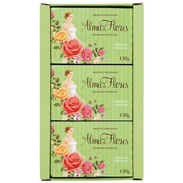 Alma de Flores Finíssimas Essências Kit - Sabonetes 3x 130g
