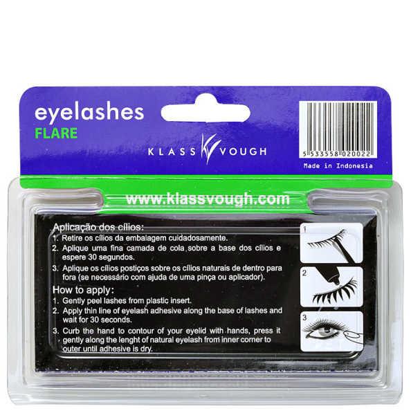 Klass Vough Flare 10mm Tufos - Cílios Postiços