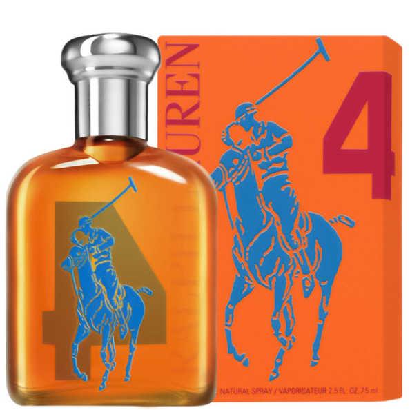 Ralph Lauren Perfume Masculino Big Pony 4 Orange - Eau de Toilette 75ml
