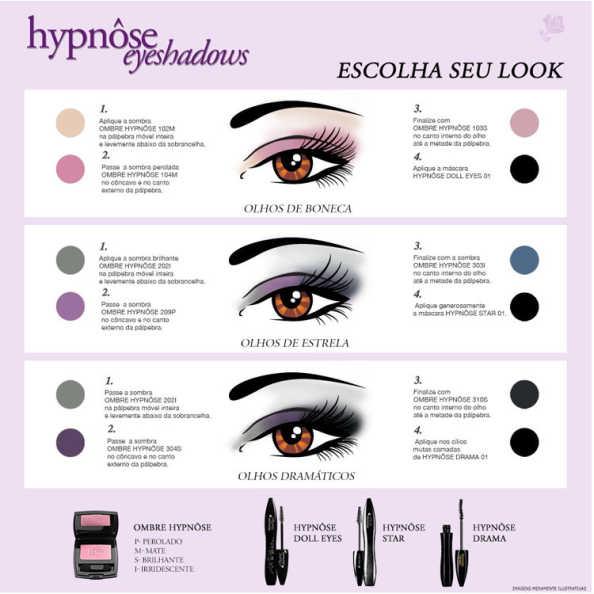 Lancôme Hypnôse Doll Eyes Waterproof Noir Black - Máscara para Cílios 6ml