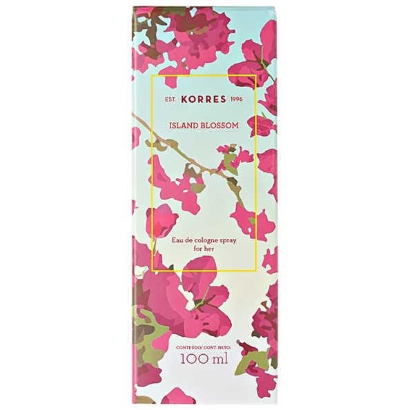 Korres Perfume Feminino Island Blossom - Eau de Cologne 100ml