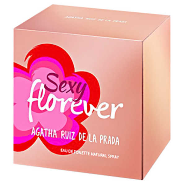 Agatha Ruiz de La Prada Perfume Feminino Sexy Florever - Eau de Toilette 30ml
