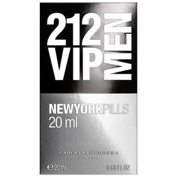 Carolina Herrera Perfume Masculino 212 VIP Men Pills - Eau de Toilette 20ml
