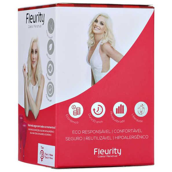 Fleurity Coletor Menstrual Tipo 3 (dois tamanhos) - Coletor Menstrual 2un