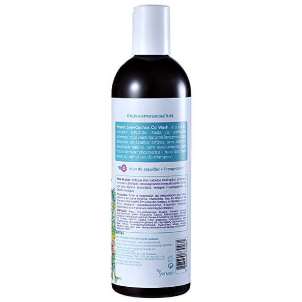 Yenzah Sou + Cachos - Condicionador Co-Wash 365ml