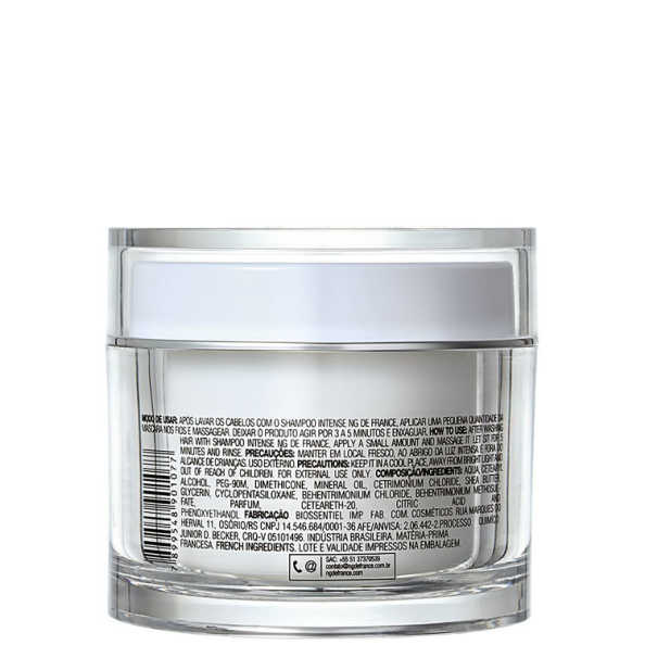 NG de France Intense Hidratação Intensa - Máscara de Tratamento 200g