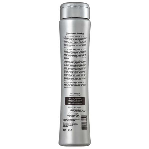 Charis Platinum - Condicionador 300ml