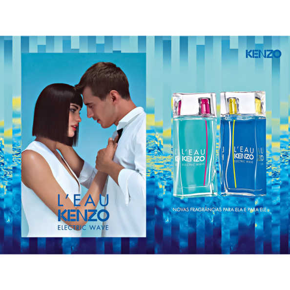 Kenzo Perfume Feminino L'Eau Kenzo Electric Wave Pour Femme - Eau de Toilette 50ml